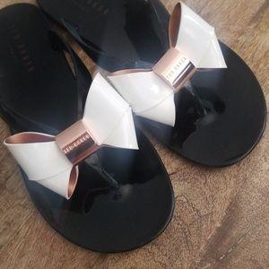 71fd154acd20 Ted Baker Shoes - Ted Baker Women s Ettiea Jelly Bow Flip Flops
